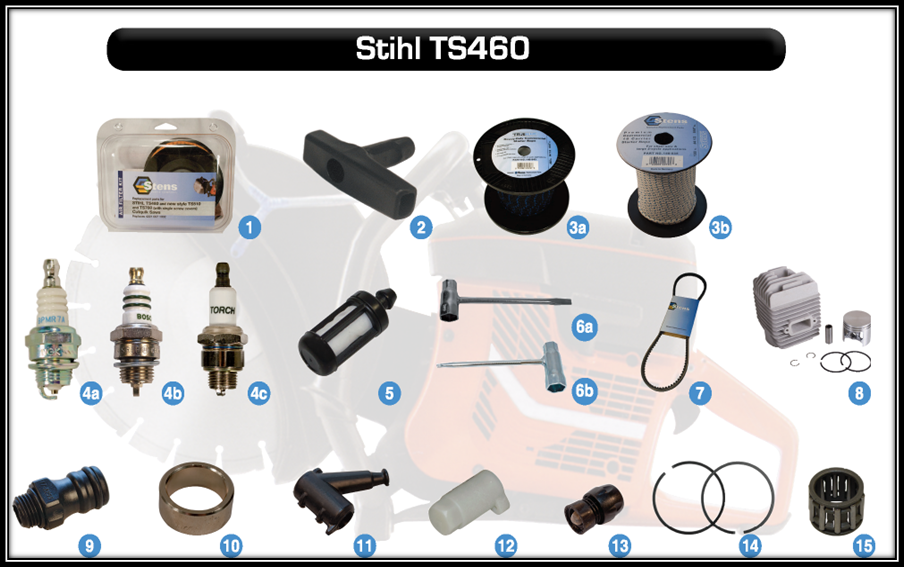 aftermarket parts for STIHL TS460